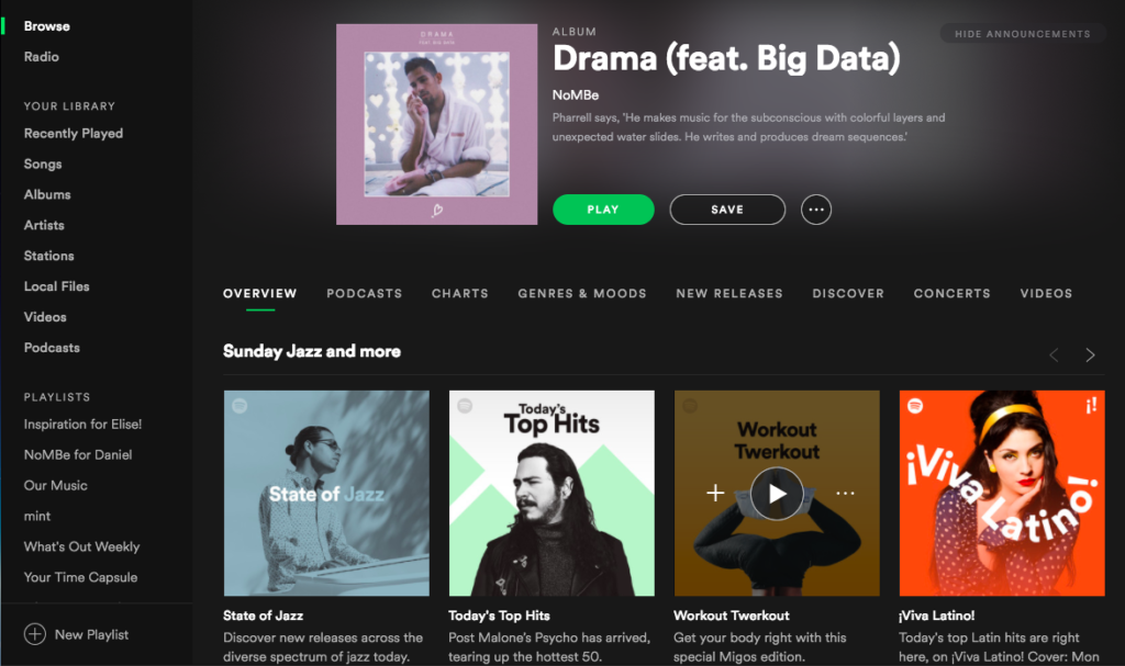 Song Sunday: Drama by NoMBe feat  Big Data – Art of a Manager